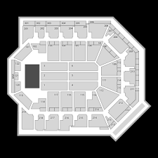 Toyota Arena Seating Chart Concert Map Seatgeek