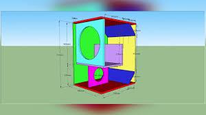 Cerwin Vega Box Design Diagram