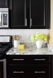installing a subway tile kitchen backsplash for 200