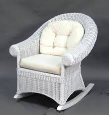terrific white wicker rocking chair about remodel famous chair designs with additional 42 white wicker rocking