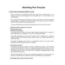 Example Of Sales Plan Template Hotel Sales Plan Template In And
