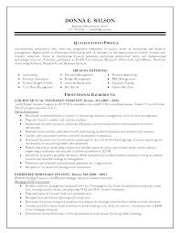 resumes for accountants and financial professionals property accountant resume examples sample for yun56 co general