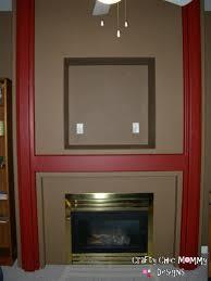 brass fireplace redo