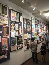 162 best art displays show images on art show display lighting