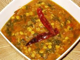 palak dal curry