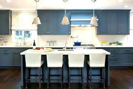 blue kitchen floor tiles dark red and white glass backsplash