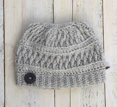 Bun Hat Pattern Best Endless Messy Bun Hat Pattern Endless Crochet Creations