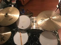 24 K Light Ride Big Cymbals Small Cymbals 16 K Light Hats 24 K Light