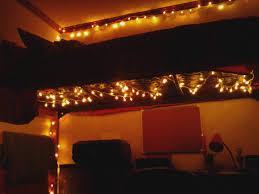 dorm room lighting ideas. put christmas lights under a lofted bed to light up dreary dorm room lighting ideas o