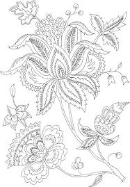Small Picture Free Printable Flower Coloring Pages For Adults