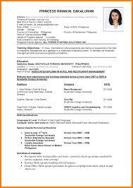 Job Resume Samples Pdf Curriculum Vitae Free Download Application