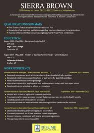 Good Resume Fonts Stunning What Font To Use For Resume Musmusme