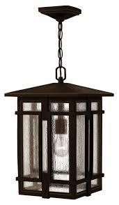 How Do You Light A Craftsman Style Home - Exterior hanging light