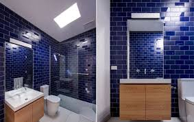 Bathroom Blue Tiles Bathroom Design