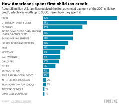 Child tax credit: how Americans used ...