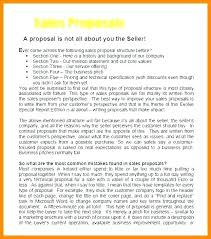 Sample Sales Proposal Letter Sales Al Letter Template Cover