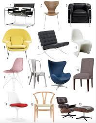 Leather Chair Designer Stylish Famous Chair Design Quiz Century The Style Safari
