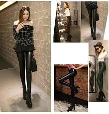 black leather leggings las winter plus size leggings thick winter leggings womens fleece faux leather pants