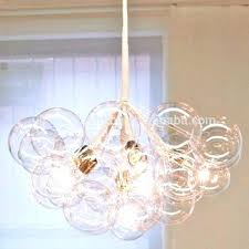 glass bubble chandelier lighting. Glass Bubble Chandelier Lighting And Floating By On Clearance Chandeliers