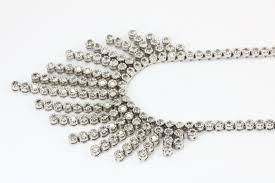 8 72tcw diamond chandelier necklace diamond necklace white gold diamond necklace diamond estate
