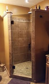 frameless single shower doors. Frameless Single Door Shower Enclosure Doors