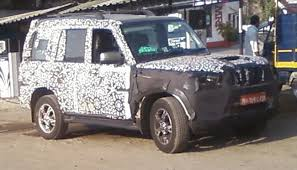 new car launches october 2014 indiaMidlife makeover for the Mahindra Scorpio to be launched in