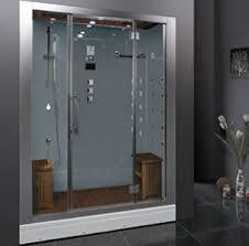 ARIEL BATH DZ972F8-W Platinum Steam Shower in White