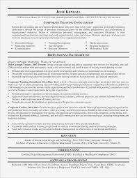 Personal Trainer Resume Beautiful Personal Trainer Resume Sample Pdf