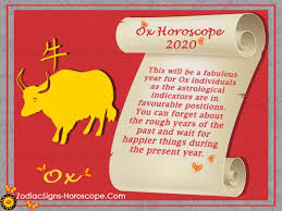 Chinese forecast & feng shui 2021 predicts the impact on both, near and opposition signs to the ox chinese sign. Ox Horoscope 2020 Chinese New Year 2020 Predictions For Ox Zodiac