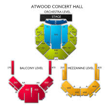 Anchorage Atwood Concert Hall Seating Chart Atwood Concert Hall At Alaska Center Tickets