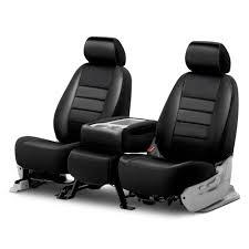 fia leatherlite series 1st row black seat covers