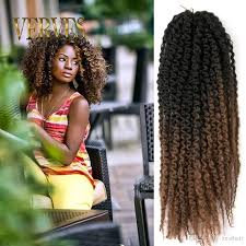 Afro Braid Hair Style wholesale afro kinky curly twist 20inch marley braid hair 3861 by wearticles.com