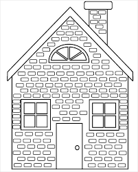 Small Picture 9 House Coloring Pages JPG AI Illustrator Download Free