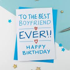 Boyfriend Birthday Card By A Is For Alphabet Notonthehighstreet Com