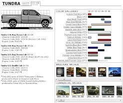 Toyota Trim Code Chart Tundra 2000 2006 Color Chart Toyota Tundra Forums