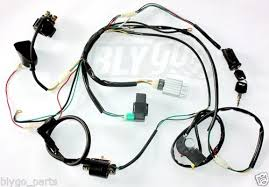 complete wiring harness promotion shop for promotional complete shipping complete electric start engine wiring harness loom 110 125cc quad bike atv buggy