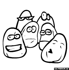 Small Picture Chicken Nuggets Coloring Page Free Chicken Nuggets Online Coloring