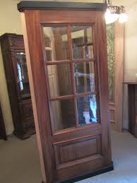 popular new mahogany door with raised molding and bevel insulated glass panels 36 x 80 x 1 3 4 unfinished 1100 00 1 100 00