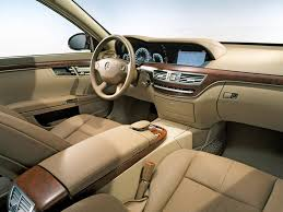 2006 Mercedes-Benz S-Class - Interior - Angle - 1024x768 Wallpaper