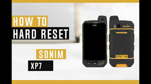 Sonim Xp7 Red Light How To Restore Sonim Xp7 To Factory Defaults Hard Reset
