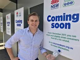 Reverse Vending Machine Australia Fascinating Mayfield Hosts One Of First Reverse Vending Machines Newcastle Herald