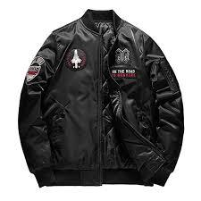 iHAZA Bomber Jacket <b>Mens</b> On Both Sides <b>Cotton</b> Padded Coat ...