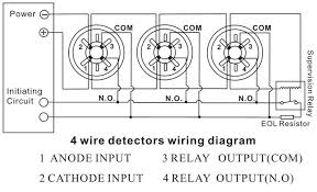 wiring diagram for interconnected smoke detectors schematics and 4 wire smoke detector diagram how to install a hardwired smoke alarm ac power and wiring