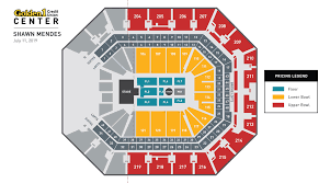 Shawn Mendes Seating Chart Shawn Mendes Golden1center