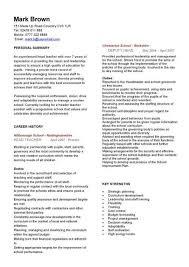 Teaching Resumes Templates Teacher Resume Samples Writing Guide