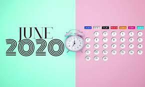 June 2020 Calendar Wallpapers - Top ...