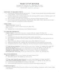 Summary Of Qualifications Template Woodnartstudio Co