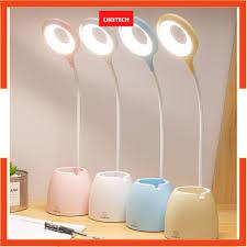 Đèn bàn học sạc tích điện ❤Bảo hành 3 tháng❤ đèn led đọc sách chống cận cho  trẻ học sinh - Đèn bàn Nhãn hàng No brand
