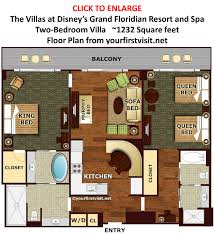 disney grand floridian 3 bedroom villas. floor plan two-bedroom villa the villas at disney\u0027s grand floridian from yourfirstvisit.net disney 3 bedroom