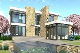 modern house. Contemporary House Modern House Designs Design In The Style With Stained Wood Lap  Siding And Stone   To Modern House